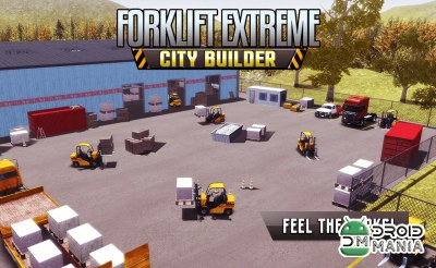 Скриншот Forklift Extreme City Builder №1