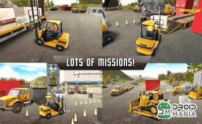 Скриншот Forklift Extreme City Builder №2