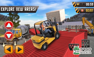 Скриншот Forklift Extreme City Builder №3