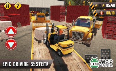 Скриншот Forklift Extreme City Builder №4