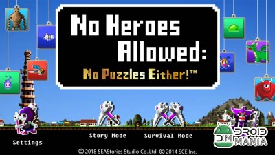 Скриншот No Heroes Allowed: No Puzzles Either! №1