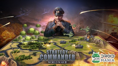 Скриншот WW2: Strategy Commander Conquer Frontline №1
