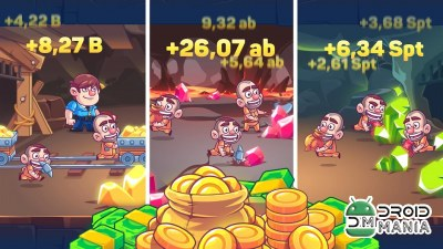 Скриншот Idle Prison Tycoon: Gold Miner Clicker Game №1