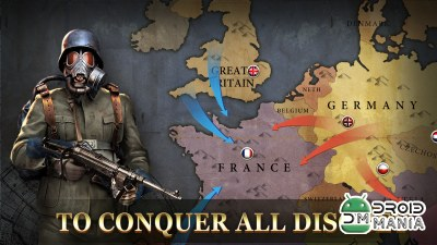 Скриншот WW2: Strategy Commander Conquer Frontline №2