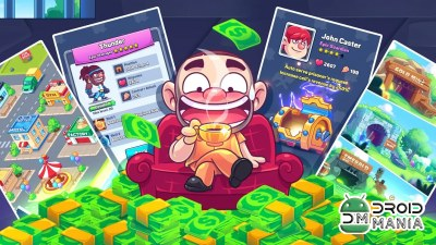Скриншот Idle Prison Tycoon: Gold Miner Clicker Game №2