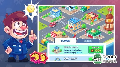 Скриншот Idle Prison Tycoon: Gold Miner Clicker Game №4