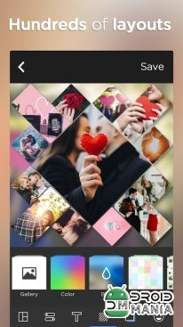 Скриншот Photo Collage Editor & Collage Maker - Quick Grid №4