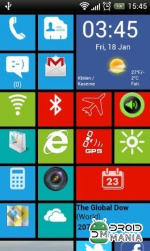 Скриншот Windows8 Launcher №1