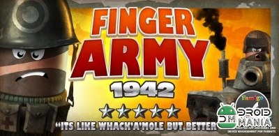 Скриншот Finger Army 1942 №1