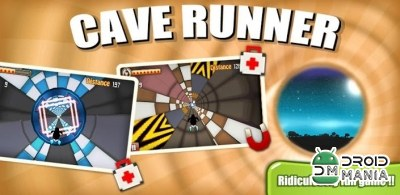 Скриншот Cave Runner: 3D Racing Game №1