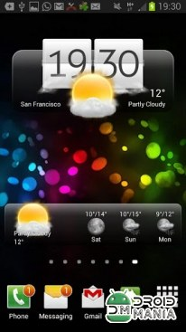 Скриншот Premium Widgets & Weather №1