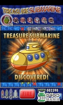 Скриншот Treasure Submarine №4