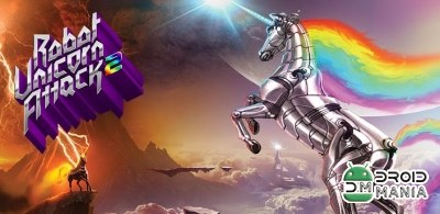 Скриншот Robot Unicorn Attack 2 №1