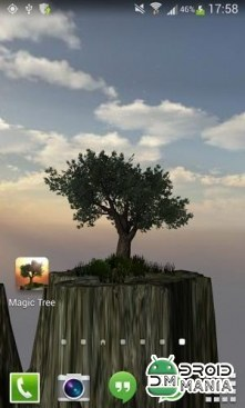 Скриншот Magic Tree Live Wallpaper №1