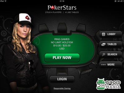 Скриншот PokerStars Mobile №1