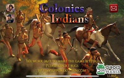 Скриншот Colonies vs Indians №1