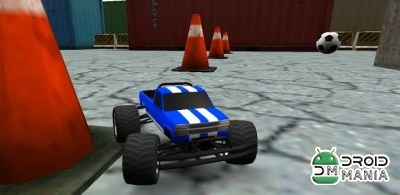 Скриншот Toy Truck Rally 3D №1