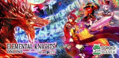 Скриншот Elemental Knights Online RED №1