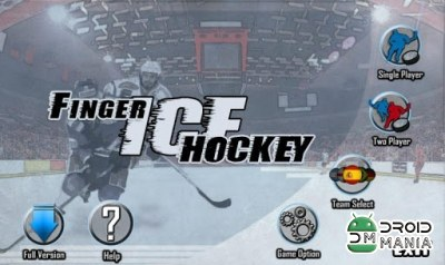Скриншот Finger Ice Hockey №1
