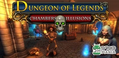Скриншот Dungeon of Legends: Chambers of Illusions №1