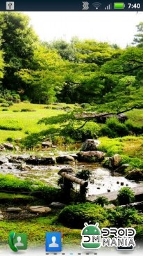 Скриншот Japanese Gardens Live Wallpaper №1
