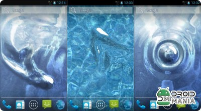 Скриншот Fresh Water S3 Live Wallpaper №1