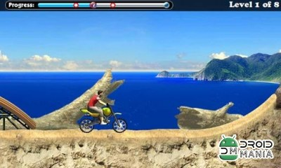 Скриншот Beach Bike - Racing Moto №2
