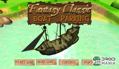 Скриншот Fantasy Classic Boat Parking №1