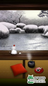 Скриншот Zen Garden Live Wallpaper (Winter) №1