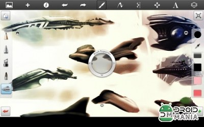 Скриншот SketchBook Pro for Tablet №1