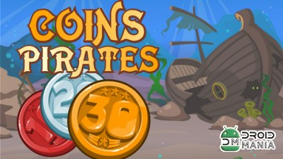 Скриншот Coins Pirates: Match 3 in row №1