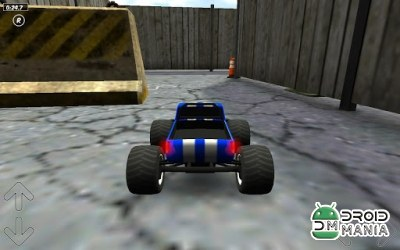Скриншот Toy Truck Rally 3D №2