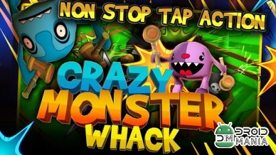 Скриншот Crazy Monster Whack №1