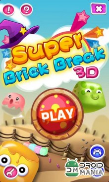 Скриншот Super Brick Break 3D №1