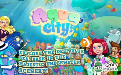Скриншот Aqua City: Fish Empires №1