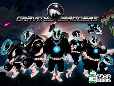 Скриншот Gravity Badgers №1