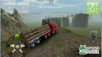 Скриншот Truck Parking 3D Pro Deluxe №3