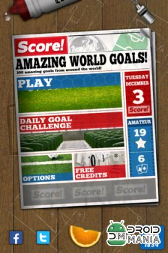 Скриншот Score! World Goals №1