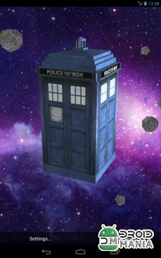 Скриншот TARDIS 3D Live Wallpaper №1