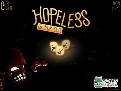 Скриншот Hopeless: The Dark Cave №1