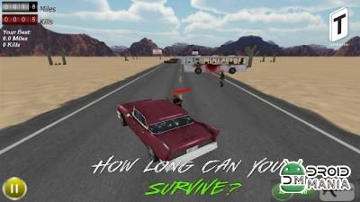 Скриншот Drive with Zombies Pro №1