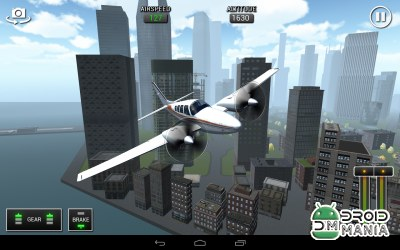 Скриншот Flight Sim BeachCraft City №1