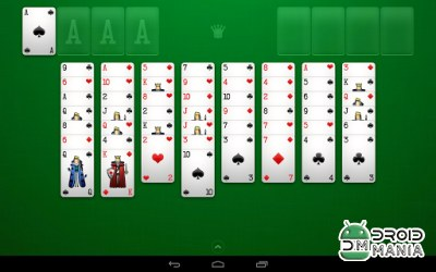 Скриншот FreeCell Solitaire №2