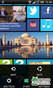 Скриншот Windows8 Launcher №2