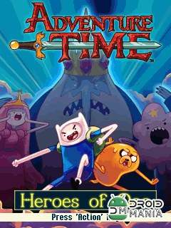 Скриншот Adventure Time: Heroes of Ooo №1
