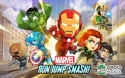 Скриншот Marvel Run Jump Smash! №1