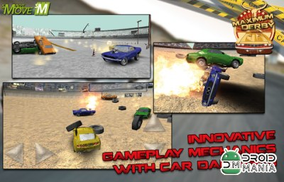 Скриншот Maximum Derby Racing 3D 2014 №1