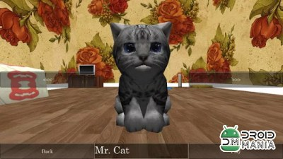 Скриншот Cute Pocket Cat 3D №1