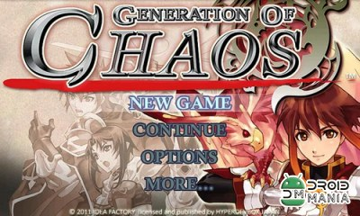 Скриншот SRPG Generation of Chaos №1