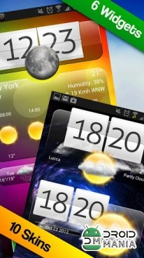 Скриншот Premium Widgets & Weather №2